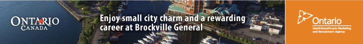 Enjoy small city charm and a rewarding career at Brockville General